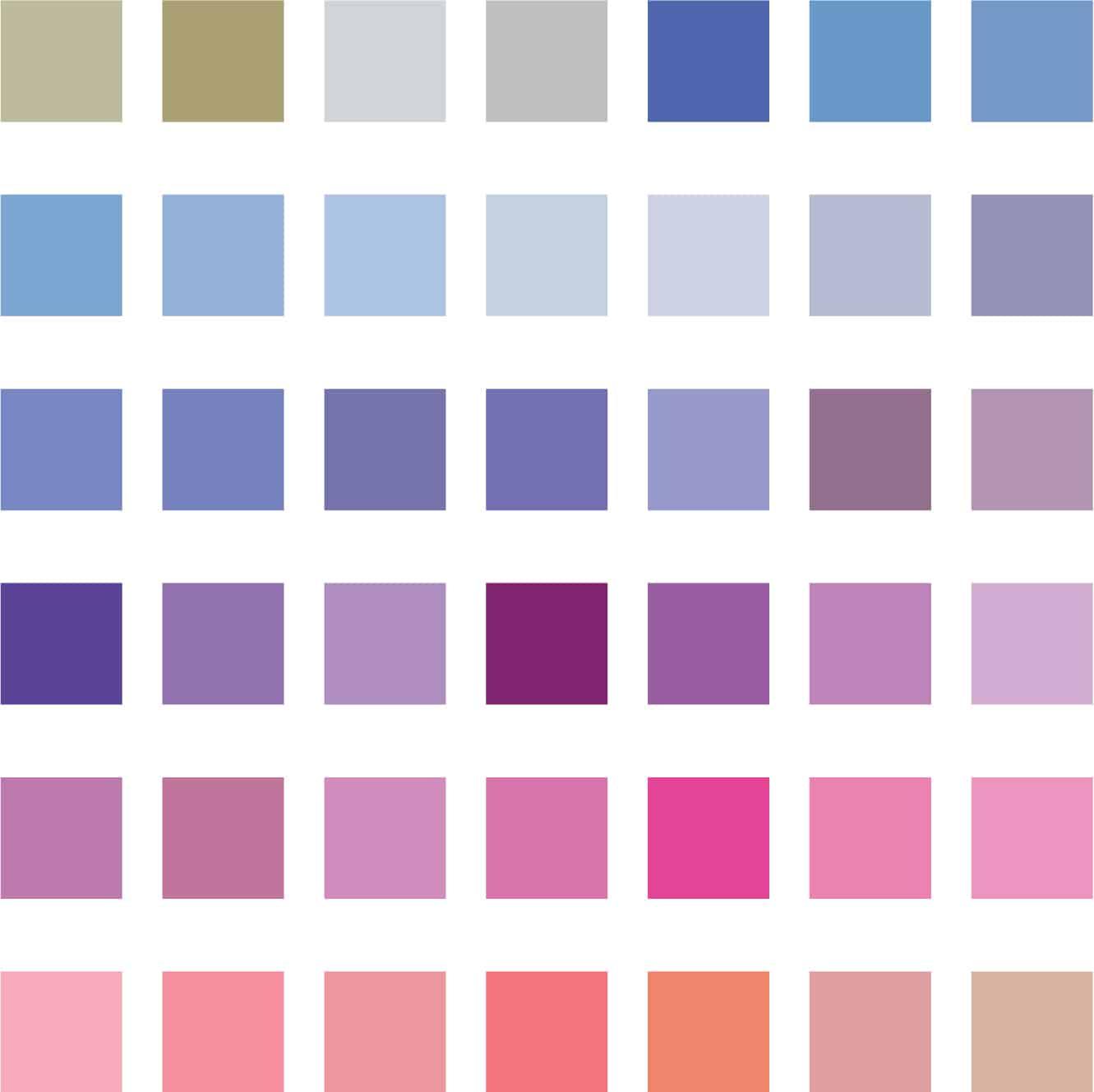 Farah Nazarali colour swatches