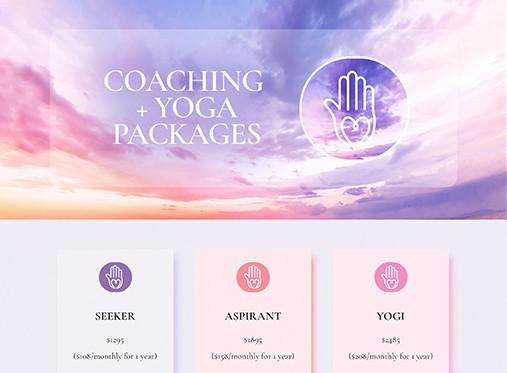 Farah Nazarali coaching package strategy