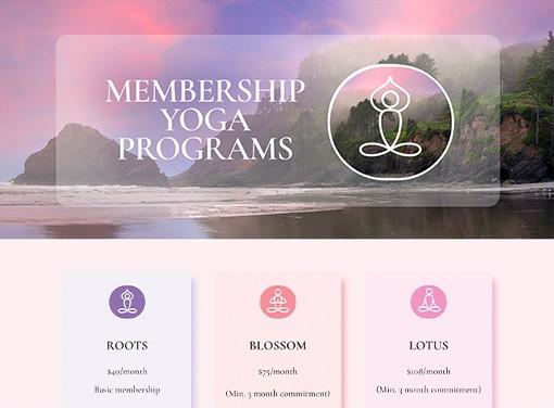 Farah Nazarali yoga package strategy