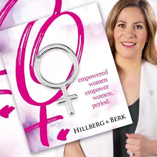 Hillberg & Berk Jewellery - Empowered Women Campaign