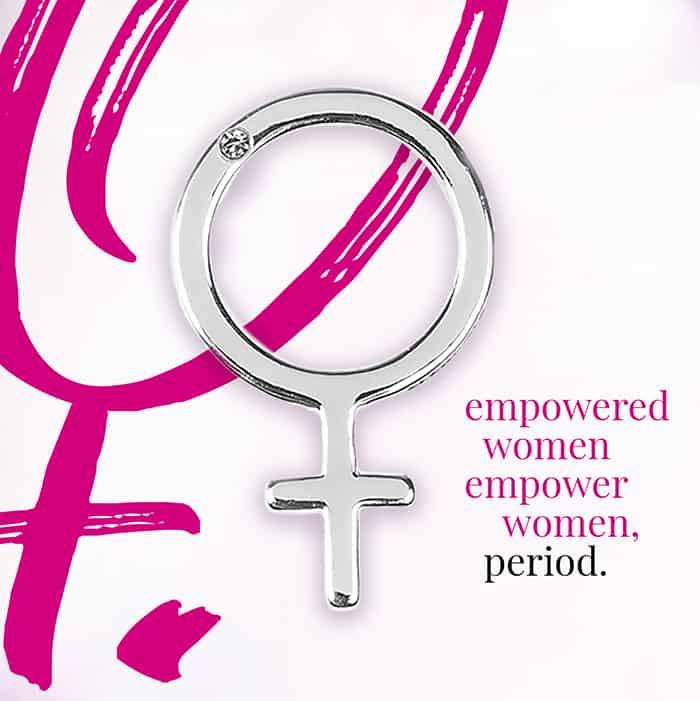 Hillberg & Berk - Empowered Women pin