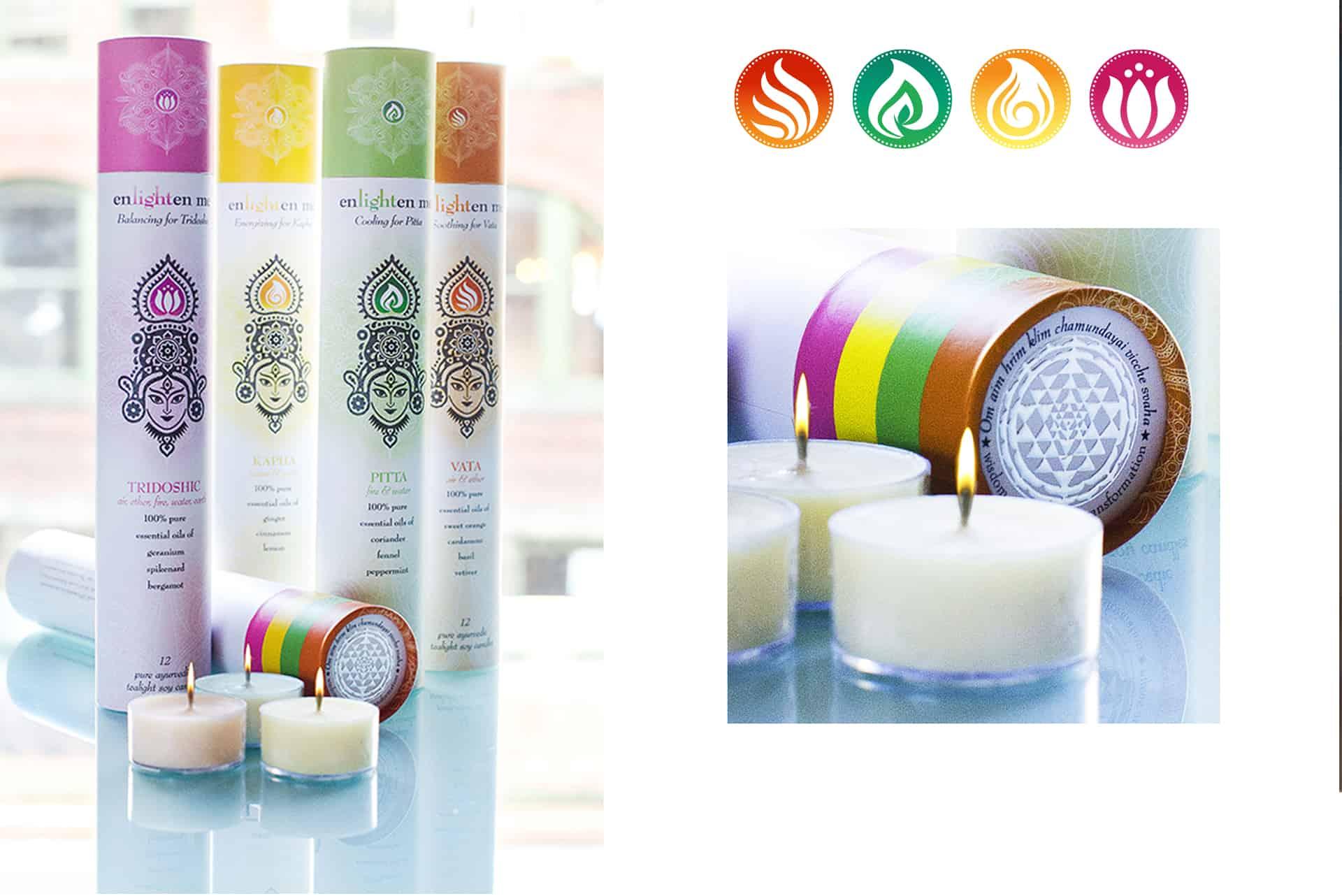 The Mystic Masala tealight candles