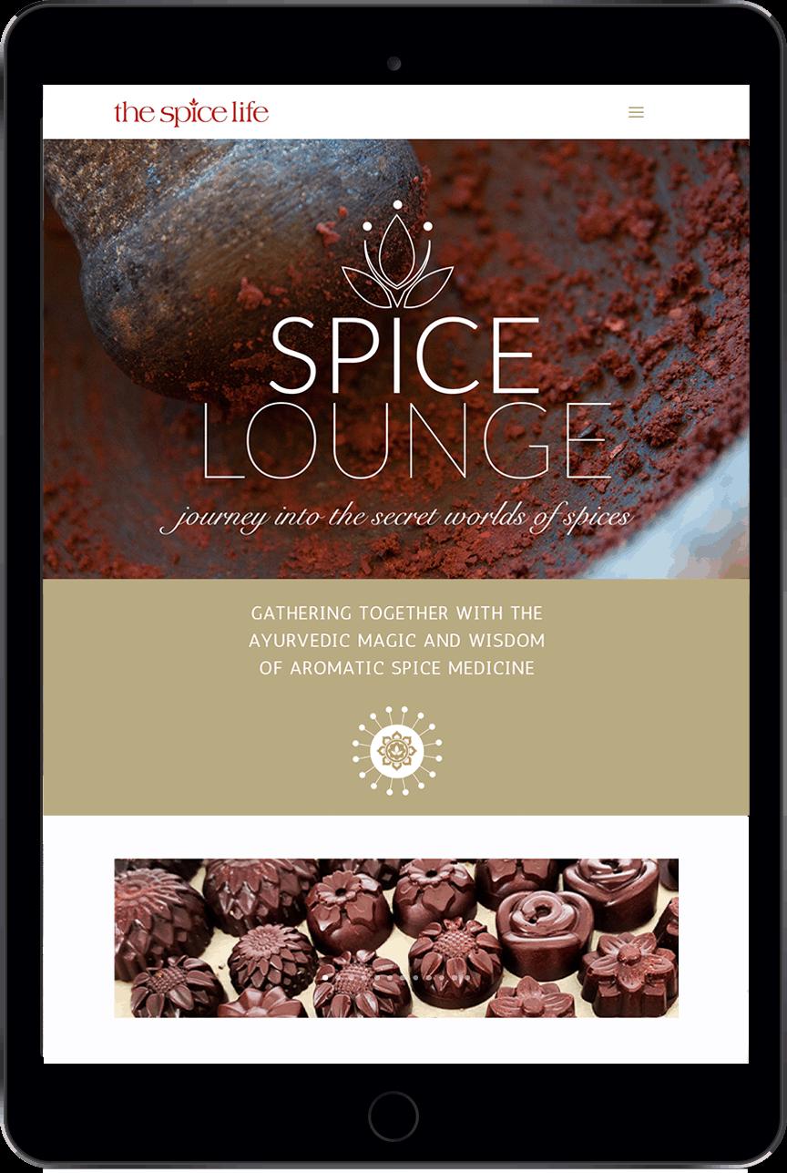 The Spice Life on iPad