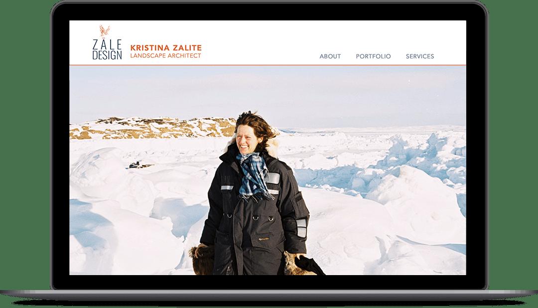 Zale Design laptop - Kristina Zalite