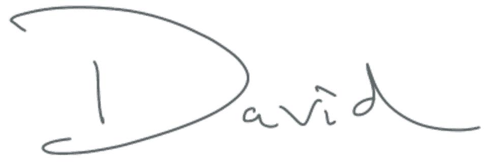 David InkWell blog signature