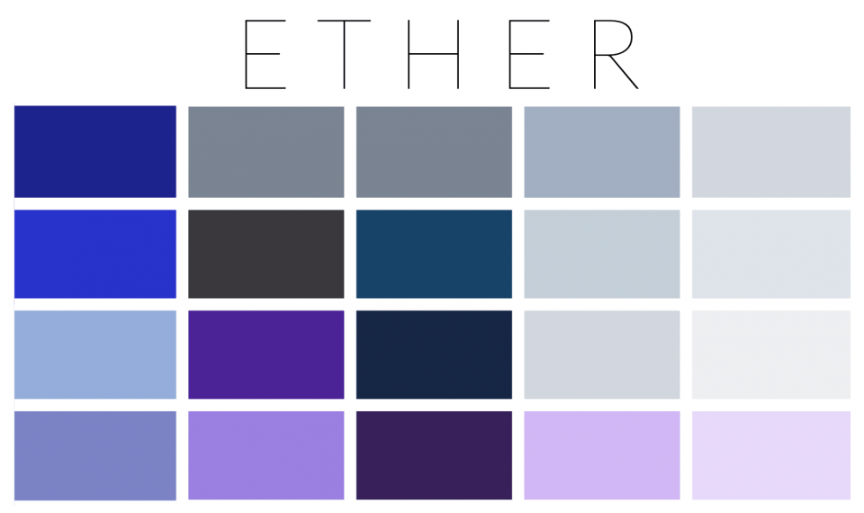 Ether palette