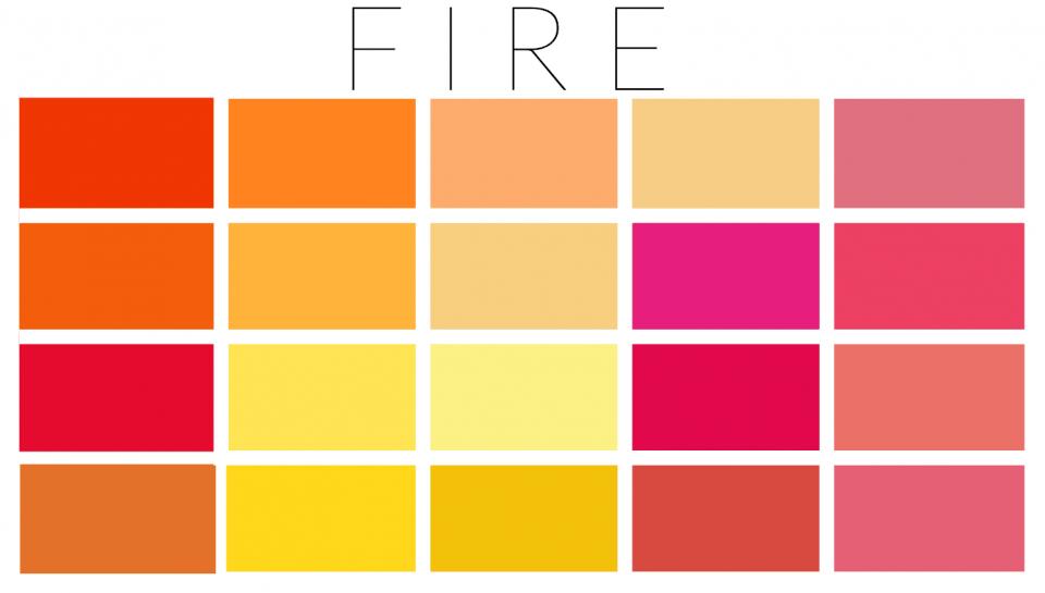 Fire palette