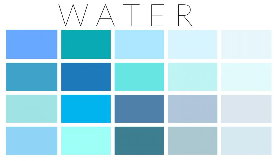 Water palette