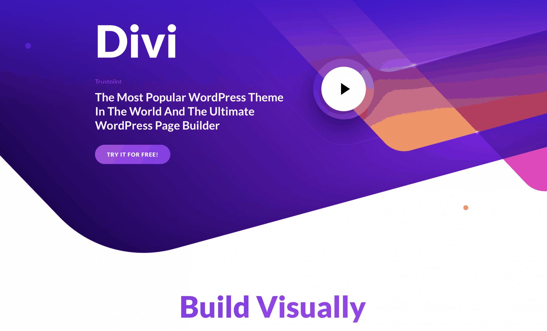 Divi web builder